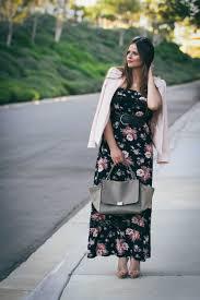 ootd black floral maxi dress u0026 celine trapeze bondgirlglam
