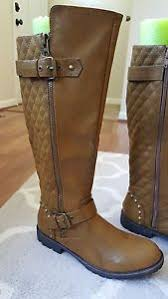 s boots calf size brown mid calf s boots size 9 ebay