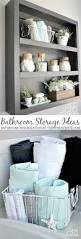 Tiny Bathroom Storage Ideas by Best 25 Bathroom Storage Solutions Ideas On Pinterest Bathroom