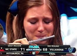 Crying Girl Meme - villanova crying piccolo player know your meme