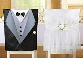 and groom chair covers and groom chair covers decoration wedding set of
