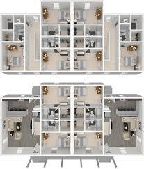 5 bedroom floor plans arlington lsu cus 5 bedroom student duplex apartments for rent
