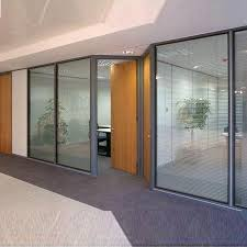 Glass Dividers Interior Design by Interior Glasses Glass Partitions Manufacturer From Noida