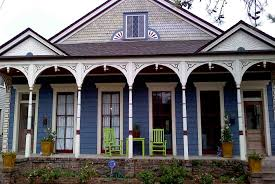 exterior my old country house colors majexticblue simply white