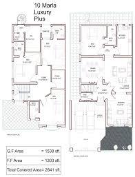 Houseplans Com Discount Code 10 Marla House Plans Civil Engineers Pk 5 Plan Loversiq