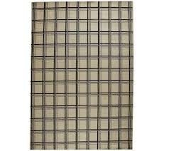 8x10 Outdoor Rug Living 8x10 Windowpane Plaid Indoor Outdoor Rug Page 1