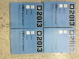 2013 gmc terrain u0026 chevy equinox service shop repair manual set