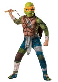 Spirit Halloween Costumes Boys Ninja Turtle Movie Child Deluxe Michelangelo Costume Costume