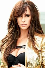 hairstyles for long hair long bangs 32 best hair images on pinterest hair colors medium long hair and
