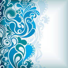 Blue Pattern Background Delicate Pattern Background Vector Free Vector 4vector