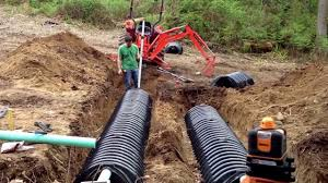how to go about building a house how to install your own septic system building a house youtube