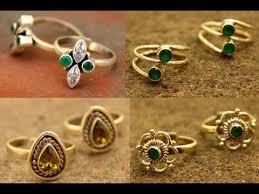 toe finger rings images Beautiful toe ring designs in silver jpg
