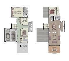 upside down floor plans 31 best reverse living house plans images on pinterest floor
