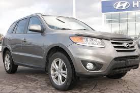 used 2012 hyundai santa fe v6 ext warranty nav system low