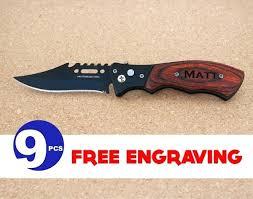 Engraved Groomsmen Gifts Knifes Steak Knives For Groomsmen Personalized Groomsmen Gift