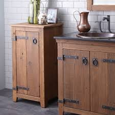 Bathroom Freestanding Cabinet Bathroom Cabinets Industrial Farmhouse Style Bathroom