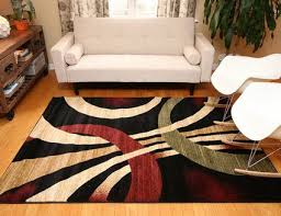 Living Room With Area Rug - choosing the right area rug for your living room