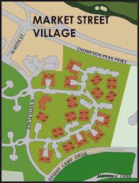 Scottsdale Az Zip Code Map by Market Street Village Dc Ranch Homes