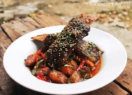 cara membuat mie es bakso braised beef short ribs in red curry resep iga sapi kuah kari