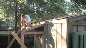 diy outdoor shed addition today u0027s homeowner