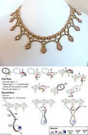 2963 best beadwork tutorials necklaces images on pinterest