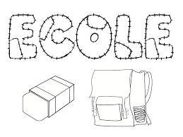 coloriage école 25 modèles à imprimer