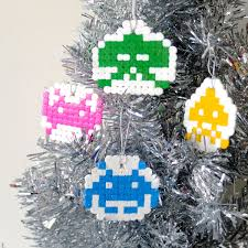how to space invaders christmas ornaments my poppet makes