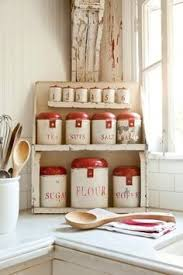 vintage style kitchen canisters vintage kitchen canisters kitschy kitchens