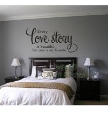 Love Story Quote Wall Sticker DIY Home Decoration Wall Art Decor - Home decor wall art stickers