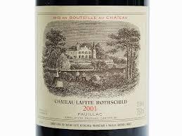 learn about chateau lafite rothschild 1 btl 2001 château lafite rothschild pauillac