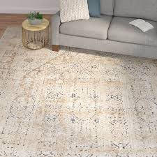 Area Rugs Beige Laurel Foundry Modern Farmhouse Abbeville Beige Area Rug Reviews