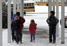 north carolina sends 3 kids home in cold without coats
