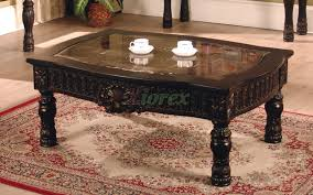 Rectangular Coffee Table Living Room - ajax rectangle coffee table with faux marble top inlay xiorex