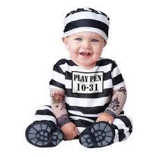 Halloween Costumes 12 Month Boy Newincharacter Baby Prisoner Halloween Costume Infant Jailbird