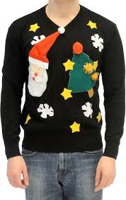 sweater with santa and