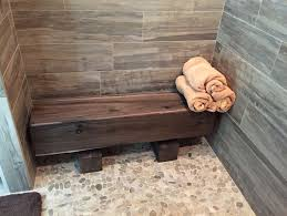 Building A Shower Bench Building Bench Seat Outdoor Furniture
