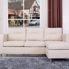 Convertible Sectional Sofa Bed detroit convertible sectional sofa and ottoman in beige