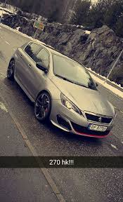 peugeot turbo 308 insane car peugeot 308 gti 270hp from s 1 6 litre turbo enigne