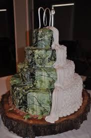various wedding cake with camo themes wedding decor theme