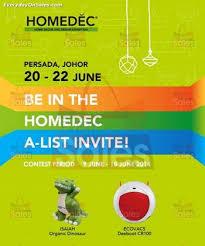 home decor exhibition 20 22 jun 2014 homedec malaysia home decor design exhibition at