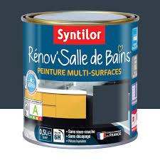 peinture cuisine salle de bain peinture rénov salle de bains syntilor gris granit 0 5 l leroy