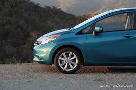 nissan versa open gas cap review 2014 nissan versa note with video the truth about cars