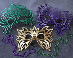 leather mardi gras masks fan leather mask in black