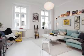 living room minimalist scandinavian living room with rectangle