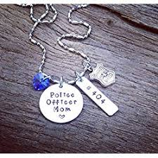 academy graduation gifts necklace gift for a officer s