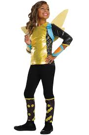 bumblebee dc superhero girls comics fancy dress halloween deluxe