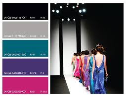 high fashion color trends high fashion pink purple teal and