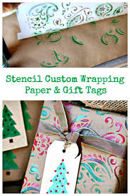 custom wrapping paper diy gift tags and wrapping paper petticoat junktion
