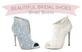 wedding shoes ireland 14 bridal booties the wedding shoe of 2015 onefabday