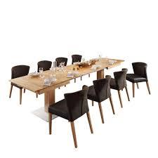 Esszimmertisch Xxl Eichenholz Esstisch Mit 8 Stühlen Gepolstert Abetzi